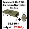 Kép 1/5 - Delphin C-RADLE XXL pontybölcső 120cm + Cormoran Nagyhalas Mérleg