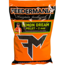 FEEDERMANIA PELLET 2 MM LEMON DREAM 800 GR