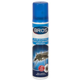 Bros Szúnyog- és kullancsriasztó aeroszol, 90 ml
