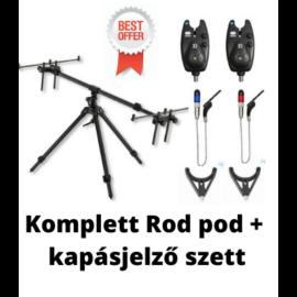 Komplett Rod Pod+ Kapásjelző szett