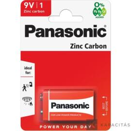 Panasonic Red Zinc 9V  elem
