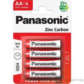 Panasonic Red Zinc AA 1.5V  elem 4db/csomag R06R
