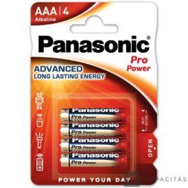 Panasonic Pro Power AAA 1.5V szupertartós alkáli elem 4db/csomag