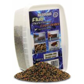 HALDORÁDÓ Fluo Micro Method Feed Pellet - Brutális Máj