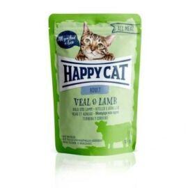 Happy Cat  Adult  Borjú és Bárány szószban  (24x85g)  2.04kg