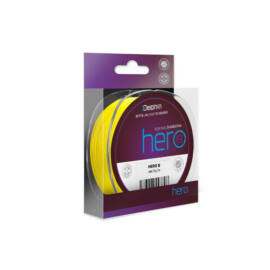 Delphin HERO 8 / fluo sárga 0,12mm 8,20kg 117m