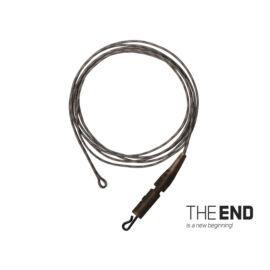 THE END Leadcore + PIN clip kötött horog / 3db