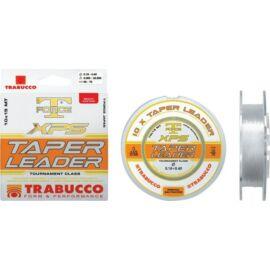 Trabucco T-Force Xps Taper Leader 10*15 m 0,57-0,20 mm elvékonyodó távdobó előke