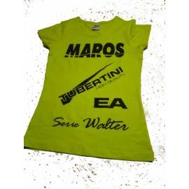 Maros Női Póló  Lime XS-M