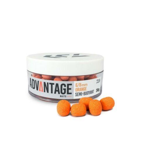 Daiwa Advantage Semi-Bouyant orange - chocolate 8\10 mm