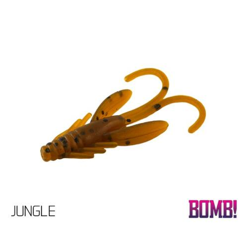 BOMB! Gumihal   Nympha / 10db     2,5cm/     JUNGLE