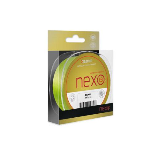 Delphin NEXO 8 fluo 0,10mm 130m  fonott zsinór