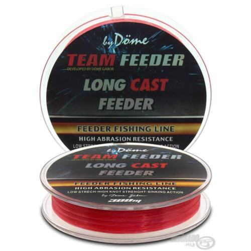 By Döme TEAM FEEDER Long Cast Line 0,18mm / 300m - 4,4 kg