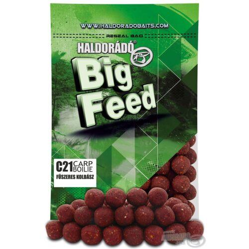 Haldorádó Big Feed - C21 Boilie - Fokhagyma & Mandula