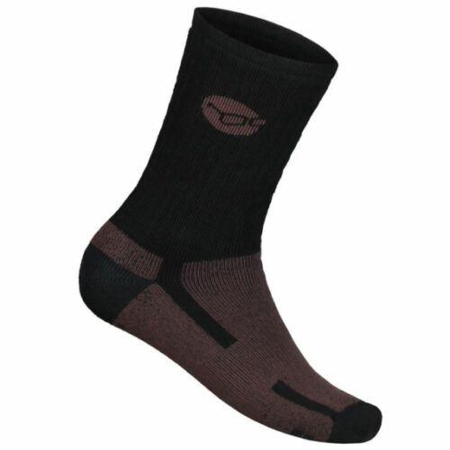Korda Kore Merino Wool Sock Black - merino zokni 44-47 as méret