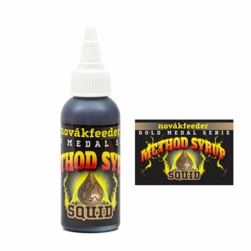 Novákfeeder Gold Medal Serie Method Syrup Squid-Tintahal 60ml
