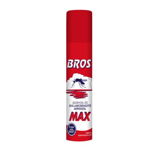Bros Szúnyog- és kullancsriasztó aerosol Max 90ml