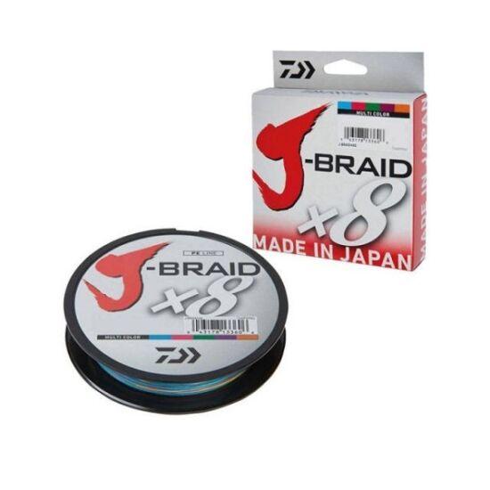 Daiwa J-Braid X8 0.13mm-300m multi color