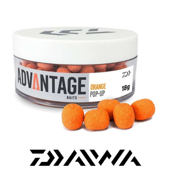 Daiwa advantage Pop-Up Orange-Chocolate 8-10mm