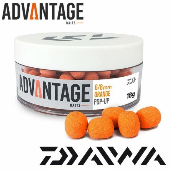 Daiwa advantage Pop-Up Orange-Chocolate 6-8mm
