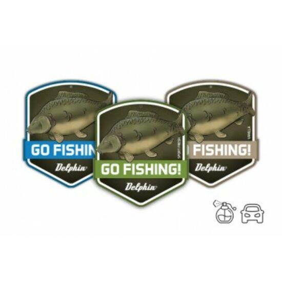 Autó illatosító GO FISHING! Carp- Vanilia
