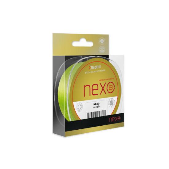 Delphin NEXO 8 fluo 0,12mm 130m  fonott zsinór