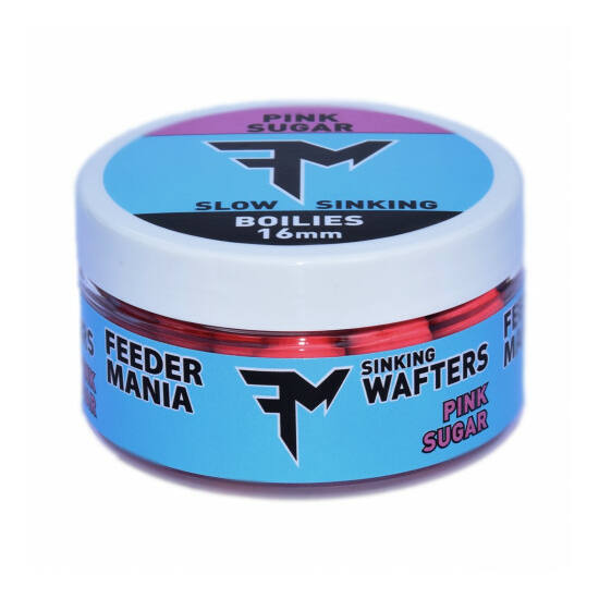 FEEDERMANIA SINKING WAFTERS 16 MM PINK SUGAR