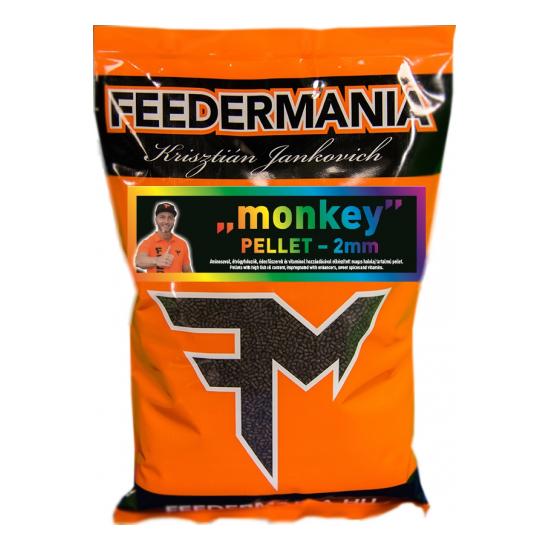 FEEDERMANIA PELLET 2 MM MONKEY 800G