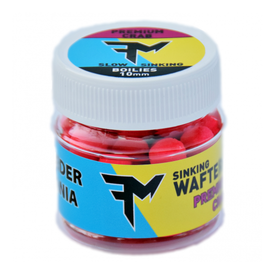 FEEDERMANIA SINKING WAFTERS 10 MM PREMIUM CRAB