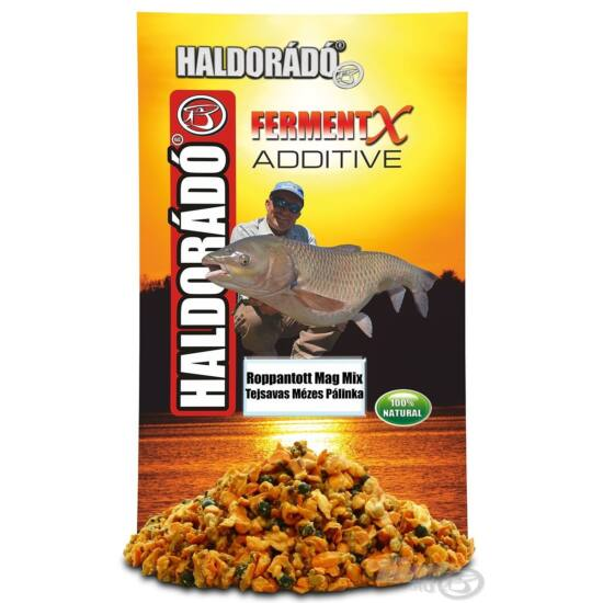 HALDORÁDÓ FermentX Additive - Roppantott Mag Mix Tejsavas Nagy Ponty