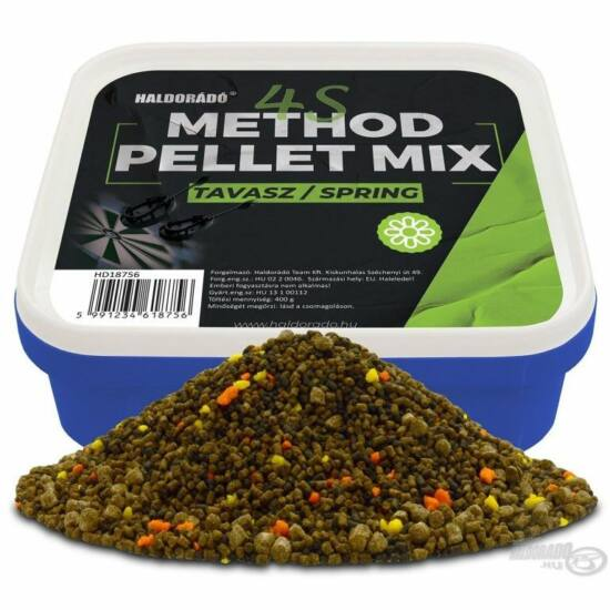 HALDORÁDÓ 4S Method Pellet Mix  Tavasz