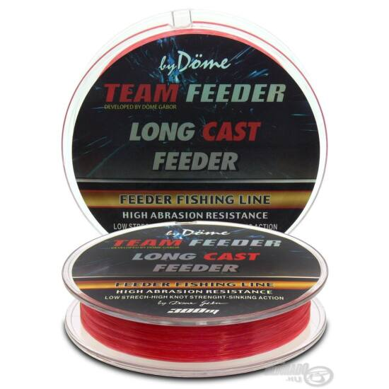By Döme TEAM FEEDER Long Cast Line 0,18mm / 300m - 4,4 kg