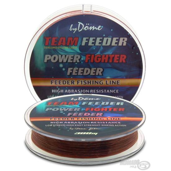 By Döme TEAM FEEDER Power Fighter Line 0,22mm / 300m - 6,2 kg