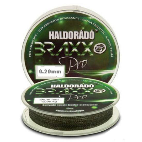 Haldorádó Braxx Pro - Fonott feeder előkezsinór 0,20mm / 10m - 15,28 kg