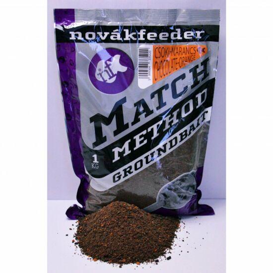 Novák match method groundbait Csoki-Narancs
