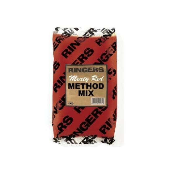 RINGERS MEATY RED METHOD MIX 1KG