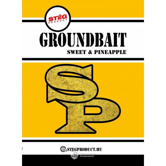 Stég Product Groundbait Sweet & Pineapple 1kg Etetőanyag