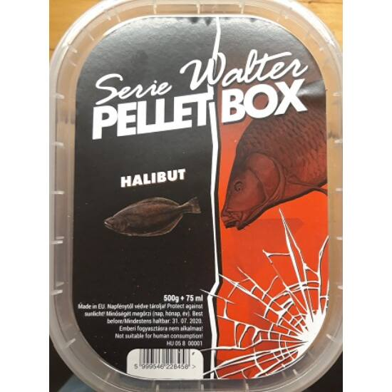 SERIE WALTER PELLET BOX HALIBUT