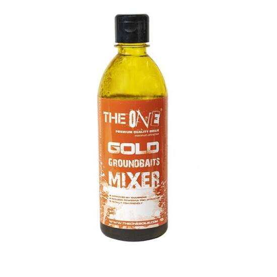 THE ONE GROUNDBAITS MIXER    Gold   500ml