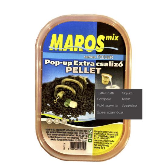 MAROS MIX POP UP EXTRA CSALIZÓ PELLET  ÉDES SZAMÓCA 8-10-12mm