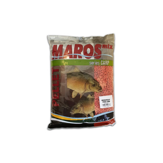 MAROS MIX MIKRO PELLET 3MM - FEKETE