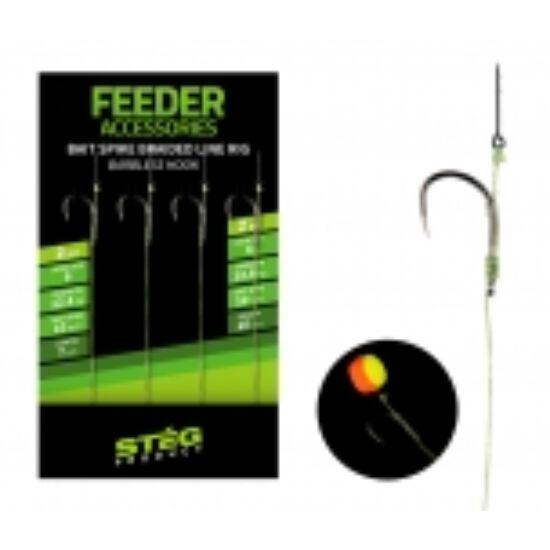 Stég Product Feeder előke csalitüskével szakáll nélküli horoggal 8 -es